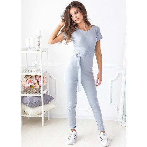 Free To Fly Jumpsuit (Grey)